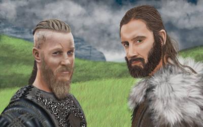Vikings by hittyskibbles