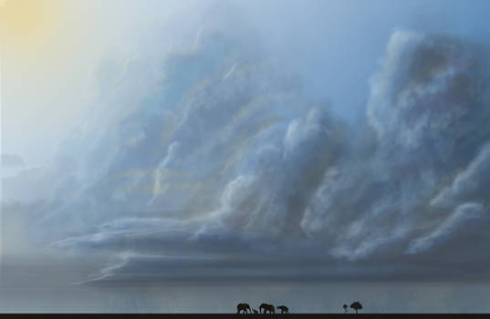 AfricanClouds by hittyskibbles