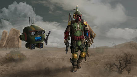 Boba Fett Redesigned- 'On The Hunt'