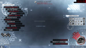 Animus Rainmeter Screenshot by Arcanum-Photography