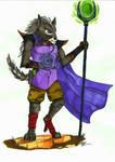 Wolf Mage