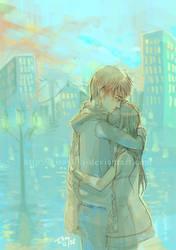 Hug by alaskaYU
