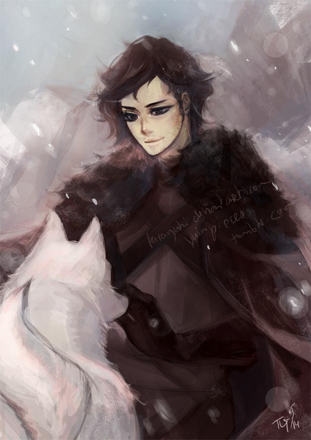 Jon Snow by kirayuki
