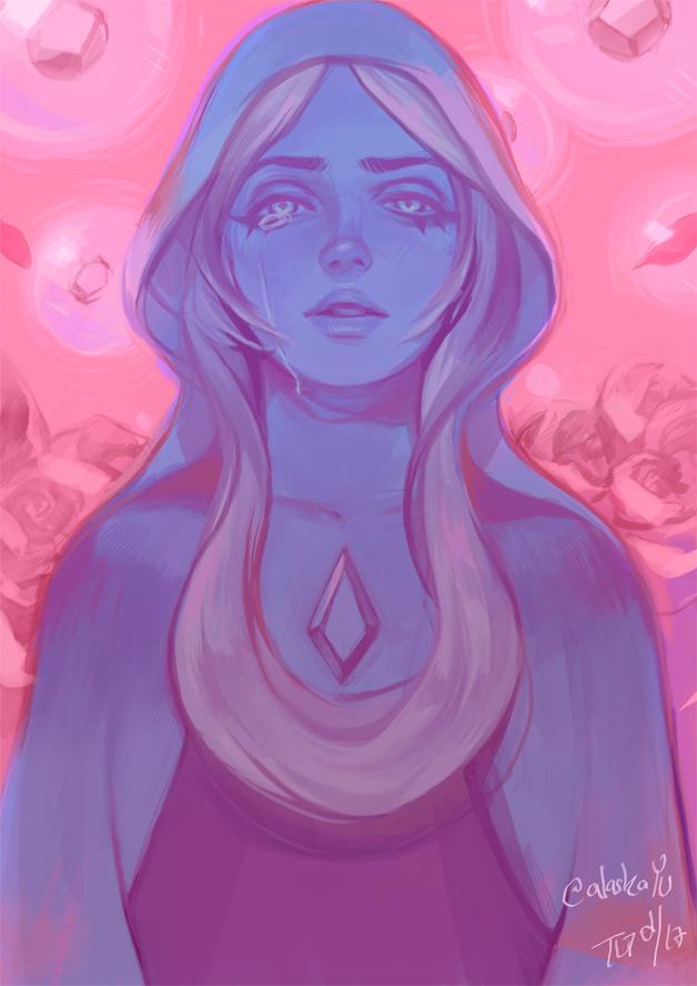 Blue Diamond by alaskaYU