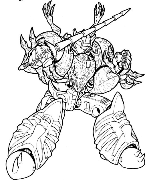 transformers beast wars free coloring pages Star Wars Coloring Pages  Beast Wars Coloring Pages