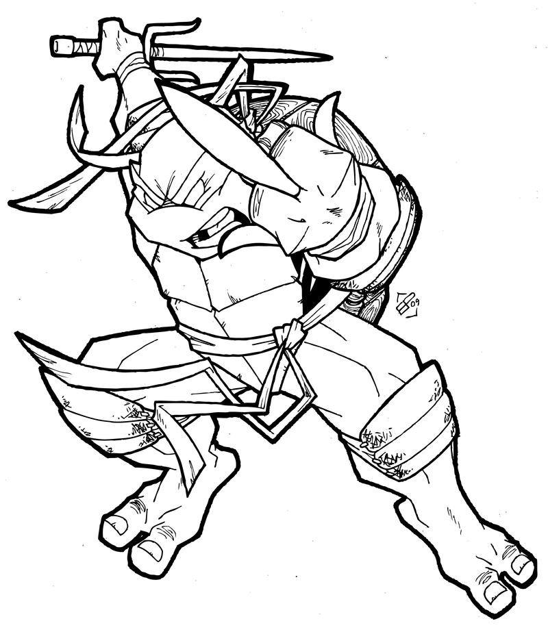 Foot soldier tmnt coloring pages