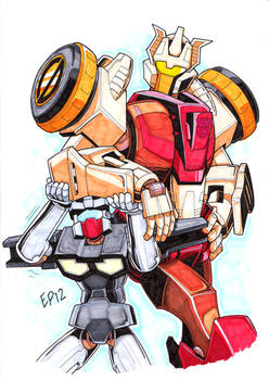 TF:MTMTE - Chromedome and Rewind - for Sprite