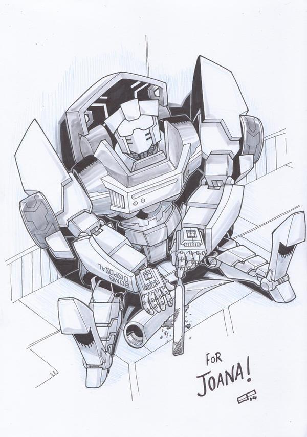 AA14 Sketch - Tailgate by Kingoji