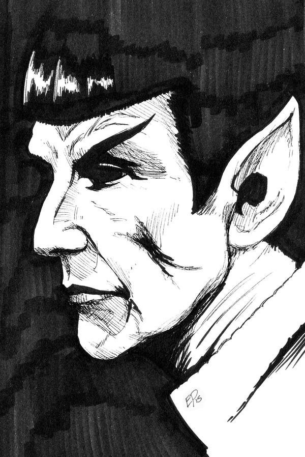 Leonard Nimoy, 1931 - 2015 by Kingoji