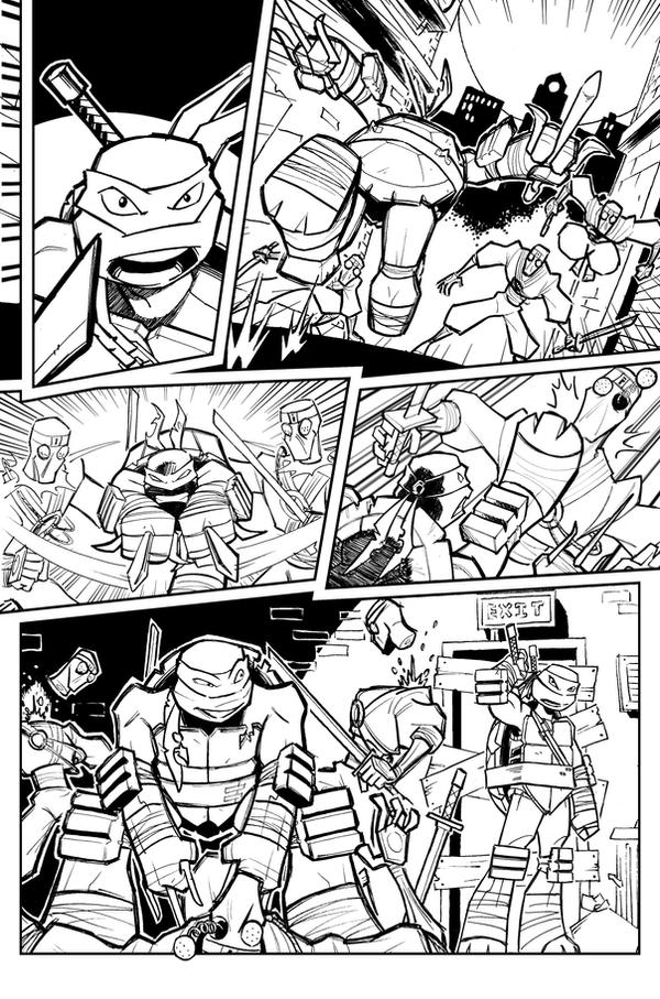 TMNTUK Try-out 1 by Kingoji