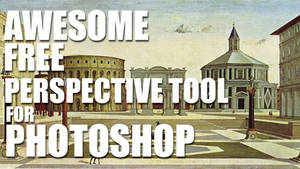 Awesome FREE Perspective Tool For Photoshop