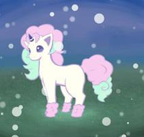 Galarian Ponyta ( Updated Predicted Sketch)