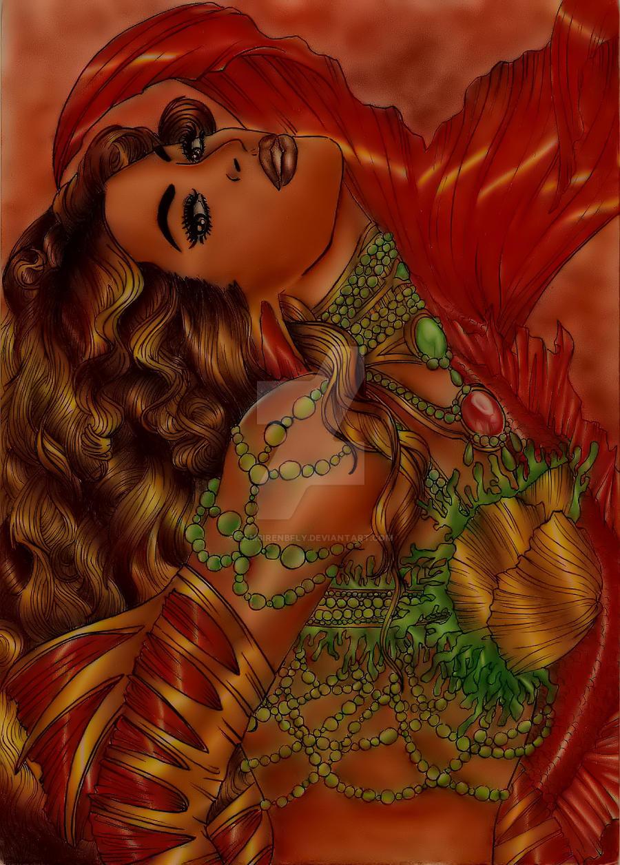 Exotic Mermaid By Samsirenbfly On DeviantArt
