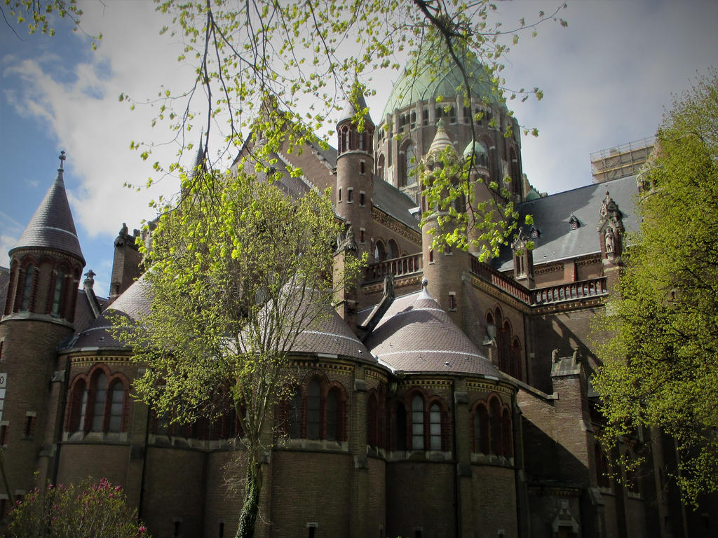 cathedrale St Bavo by marob0501