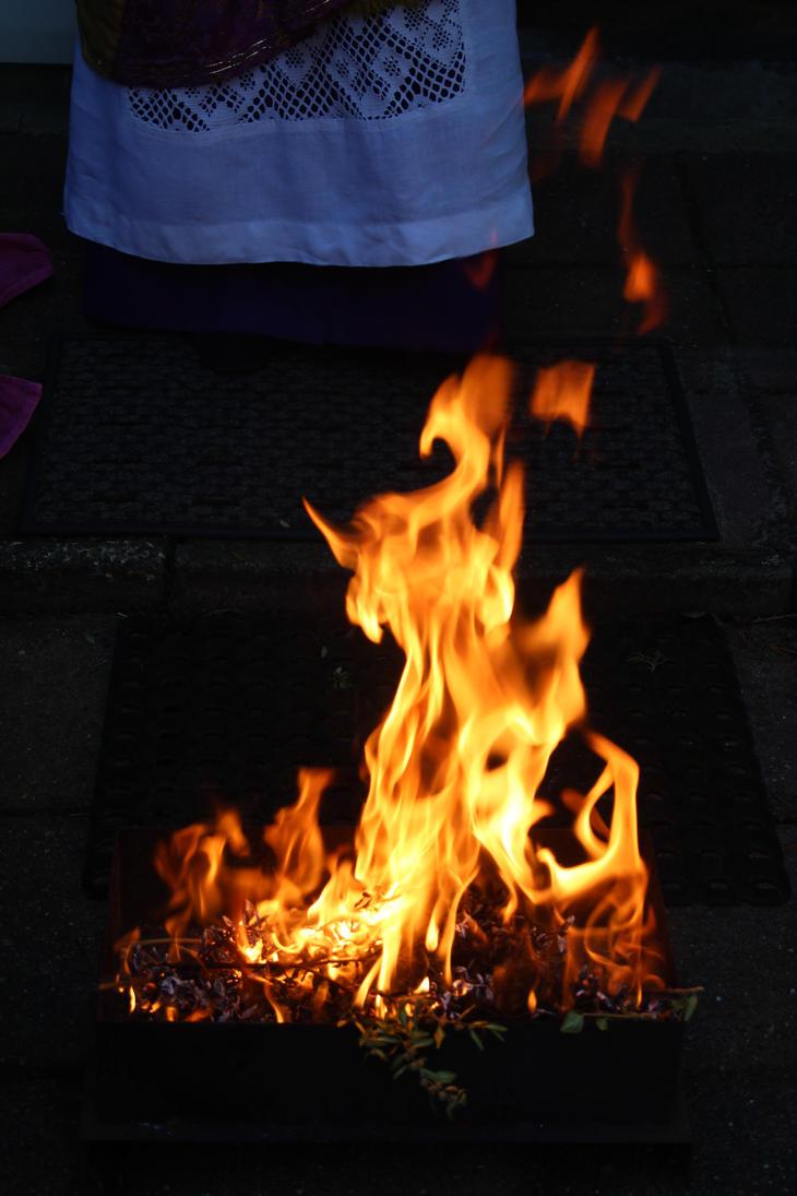 fire on ashwednesday by marob0501