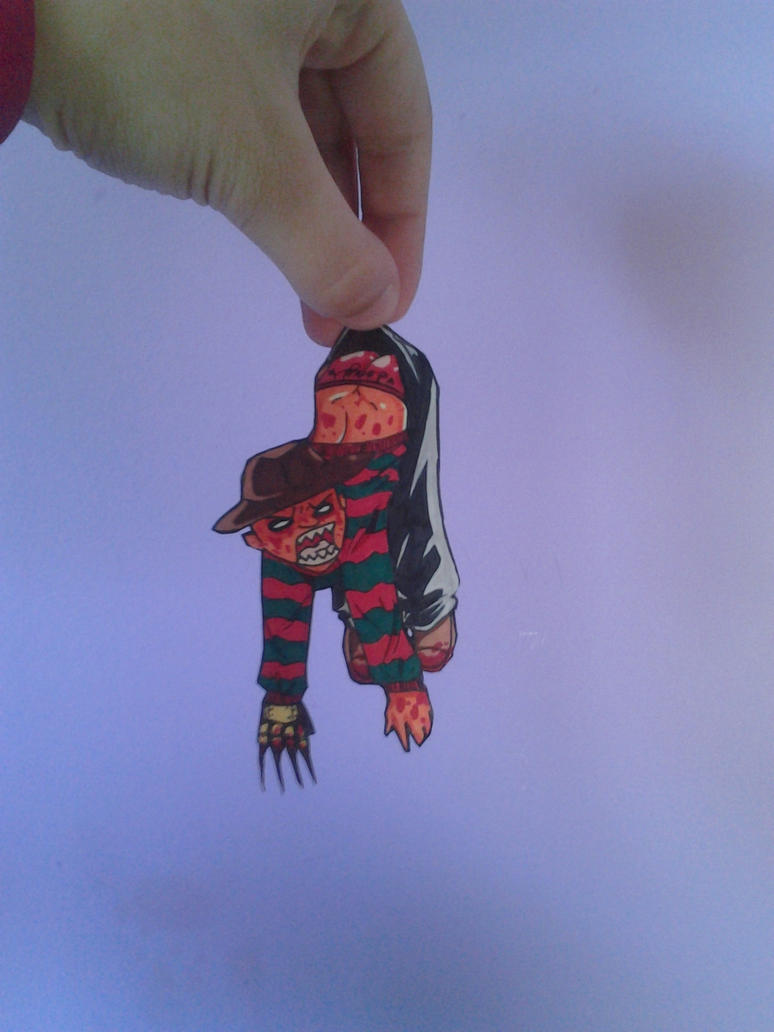 Freddy Krueger Paperchild by Walwa