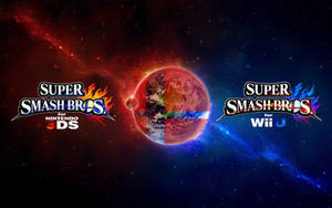 Super Smash Bros. Wii U/3DS Logo Wallpaper #4 by TheWolfBunny