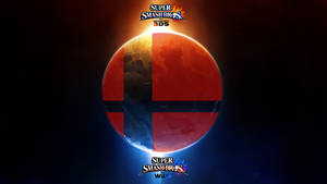 Super Smash Bros. Wii U/3DS Logo Wallpaper #8 by TheWolfBunny
