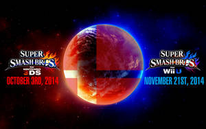 Super Smash Bros. Wii U/3DS Logo Wallpaper #9 by TheWolfBunny