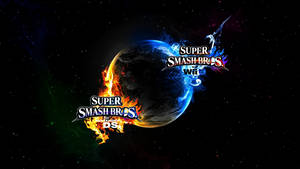Super Smash Bros. Wii U/3DS Logo Wallpaper #19 by TheWolfBunny