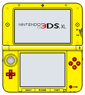 Nintendo 3ds xl pikachu edition by thewolfbunny on for 3ds xl pikachu achat