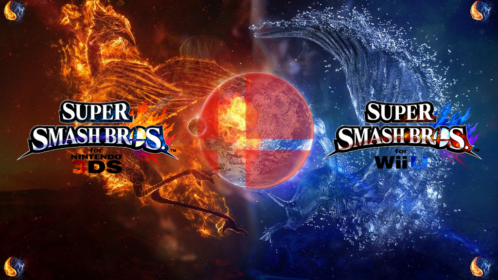 Super Smash Bros Wii U 3DS Logo Wallpaper 36 By TheWolfBunny