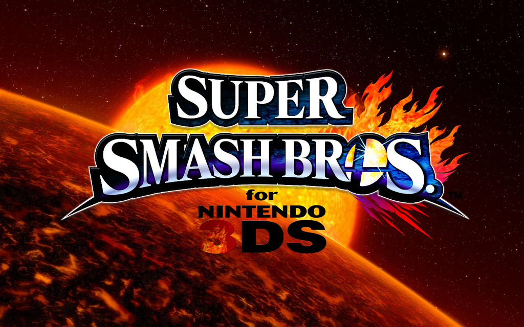 Super Smash Bros For Nintendo 3DS Wallpaper 1 By TheWolfBunny