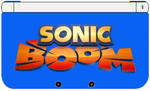 Nintendo 3DS XL - Sonic Boom Edition by TheWolfBunny