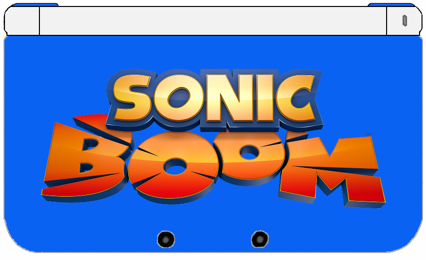 nintendo 3ds xl sonic boom edition by thewolfbunny on deviantart. Black Bedroom Furniture Sets. Home Design Ideas