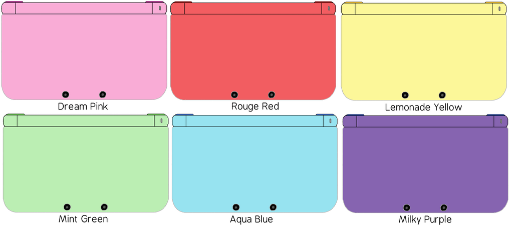 Nintendo 3ds Xl Colors : Nintendo ds xl yes pretty cure gogo colors by