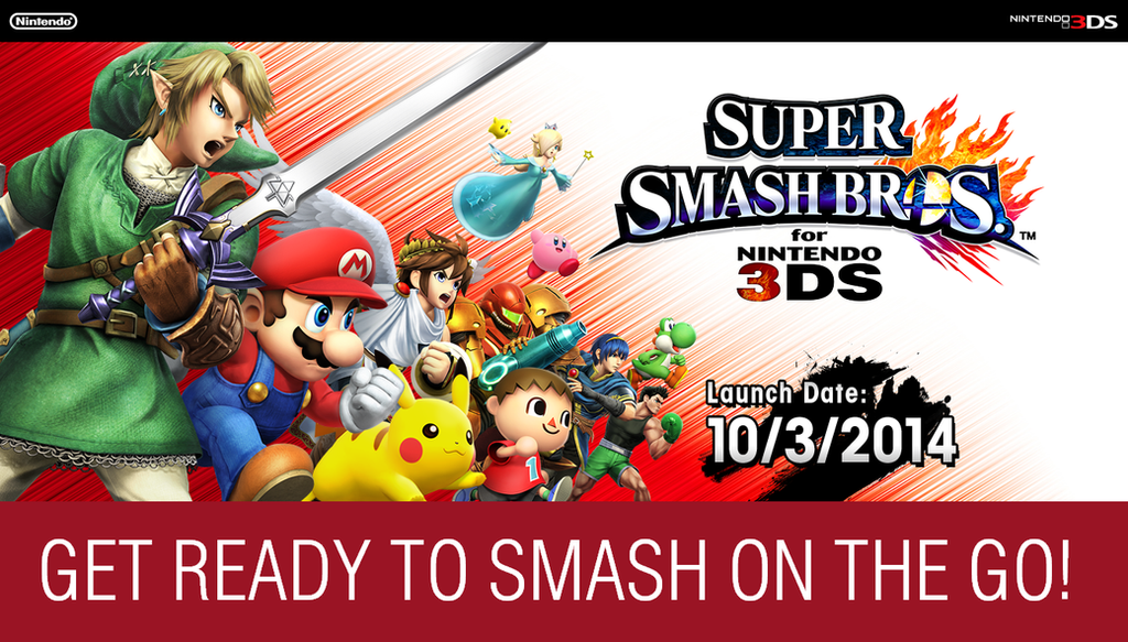 Super Smash Bros For Nintendo 3DS Wallpaper By TheWolfBunny
