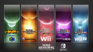 Super Smash Bros. Evolution Wallpaper