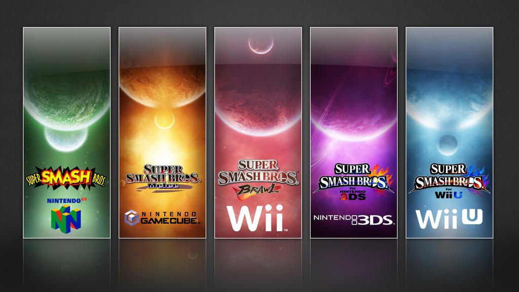 Super Smash Bros Evolution Wallpaper By TheWolfBunny