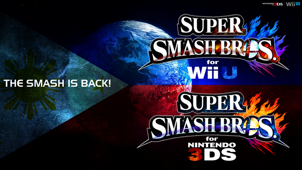 Super Smash Bros Wii U 3DS Logo Wallpaper 87 By TheWolfBunny