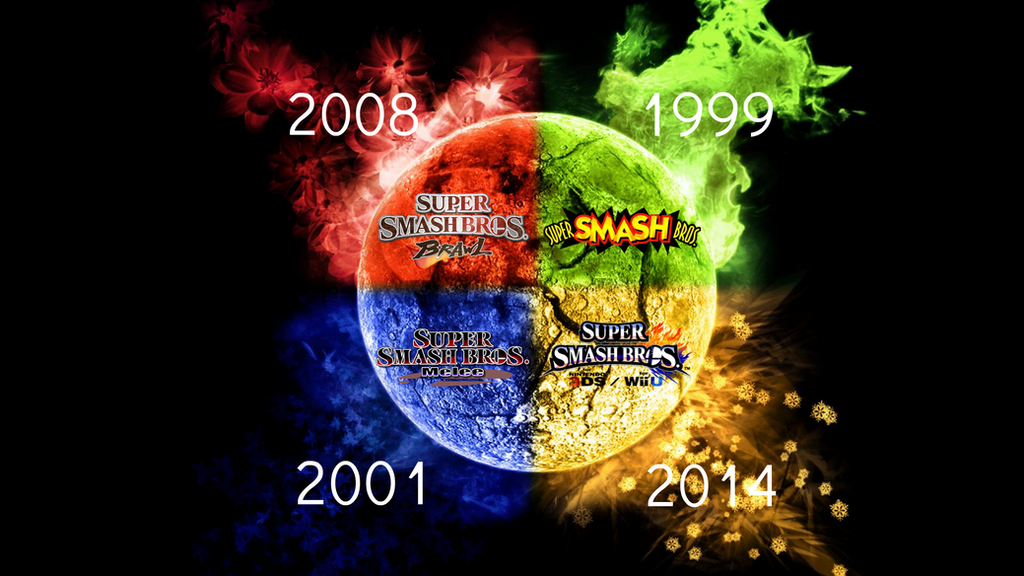 Super Smash Bros Evolution Wallpaper 18 By TheWolfBunny