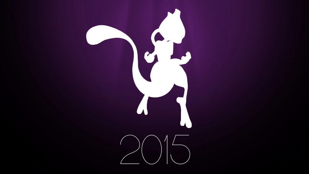 Super Smash Bros. 4 - Mewtwo Teaser Wallpaper by TheWolfBunny