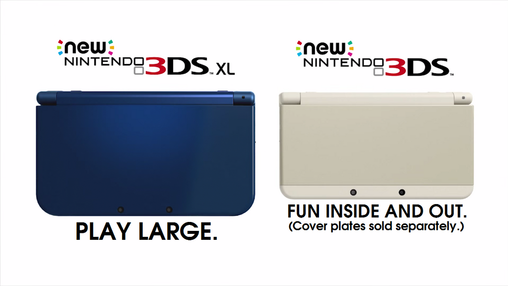 New Nintendo 3DS Official Wallpaper by TheWolfBunny