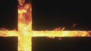 Super Smash Bros. Fire Symbol Wallpaper
