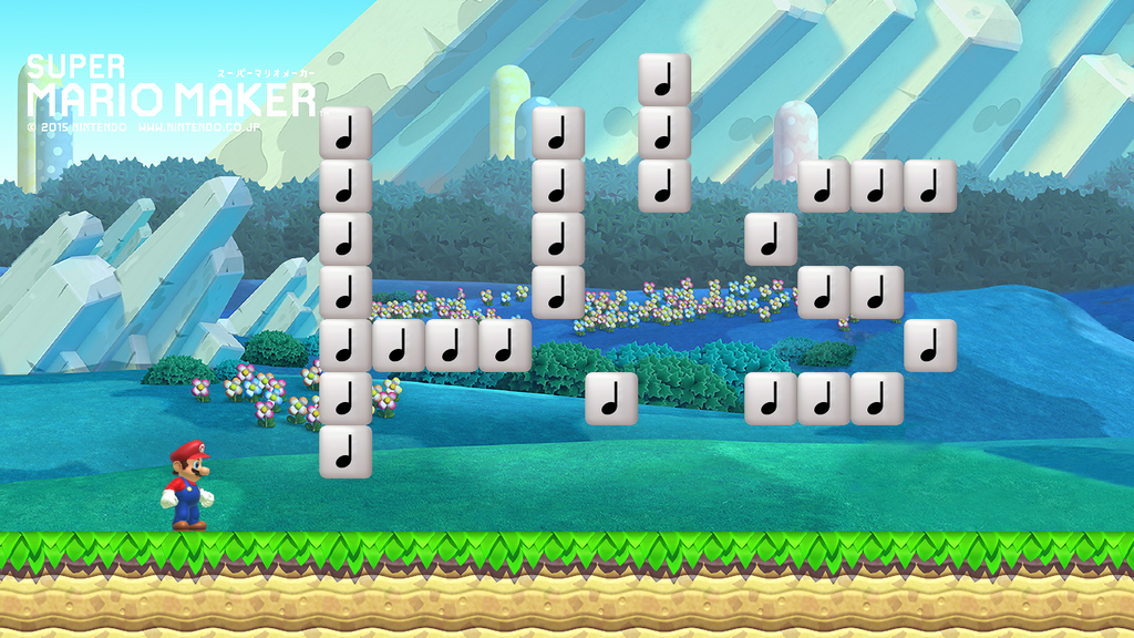 Super Mario Maker X Love Live Wallpaper By TheWolfBunny