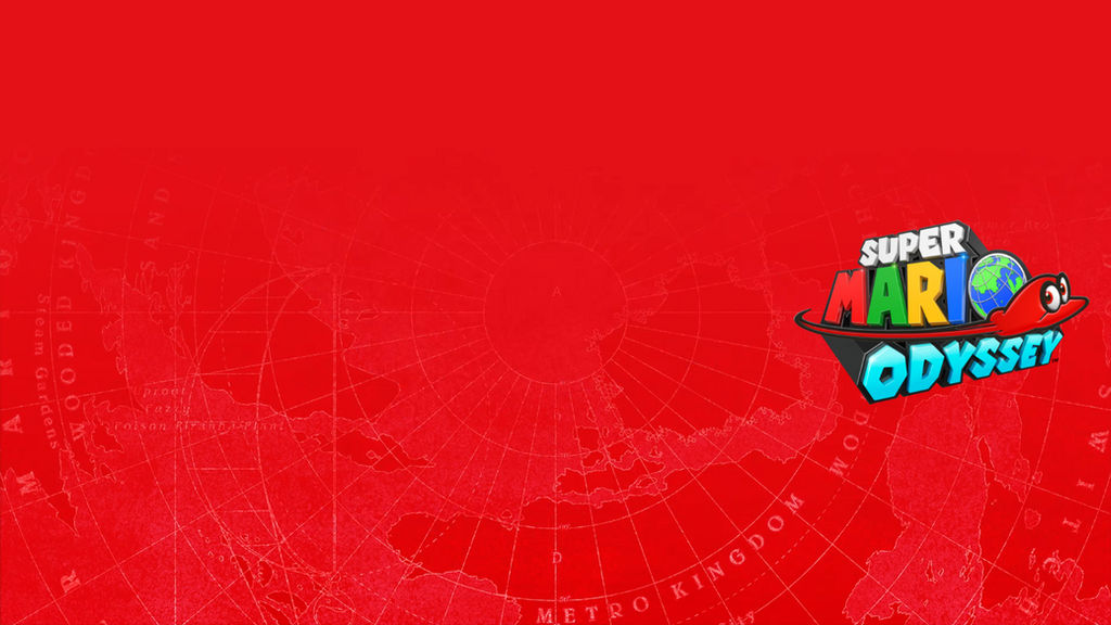 Super Mario Odyssey Official Wallpaper by TheWolfBunny