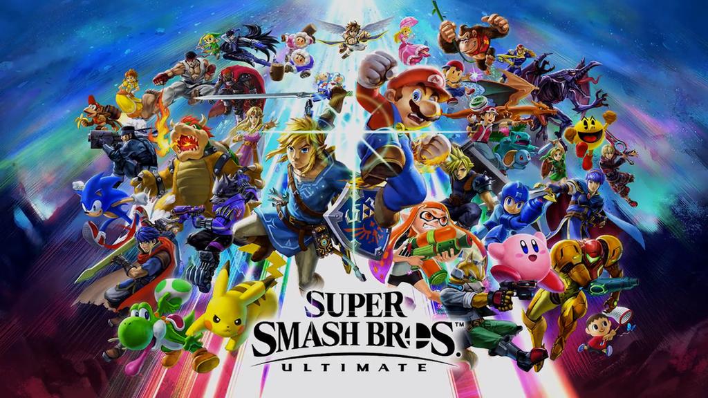 Super Smash Bros. Ultimate - Key Art Wallpaper by ...