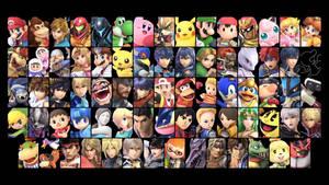 Super Smash Bros. Ultimate: Base Roster Wallpaper