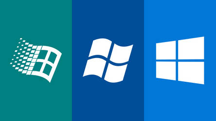 Windows Generations Wallpaper by TheWolfBunny