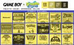 Game Boy Palette: SpongeBob Yellow