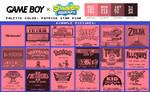 Game Boy Palette: Patrick Star Pink
