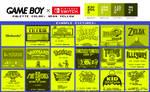 Game Boy Palette: Neon Yellow