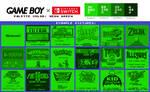 Game Boy Palette: Neon Green