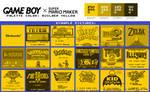 Game Boy Palette: Builder Yellow