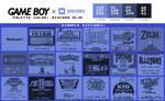 Game Boy Palette: Discord Blue