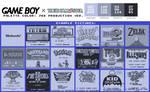 Game Boy Palette: 765 Production Ver.